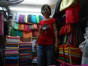 Fabric vendor