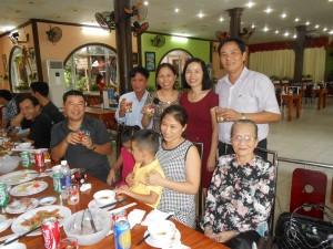 Vinh's family