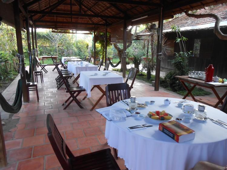 Homestay dining room