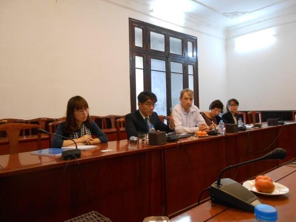 ILO meeting 1