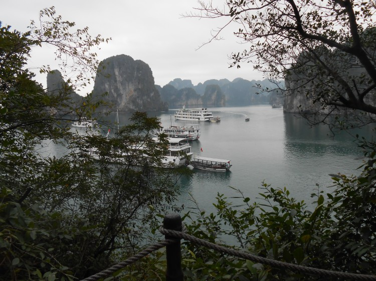 Halong from Cave