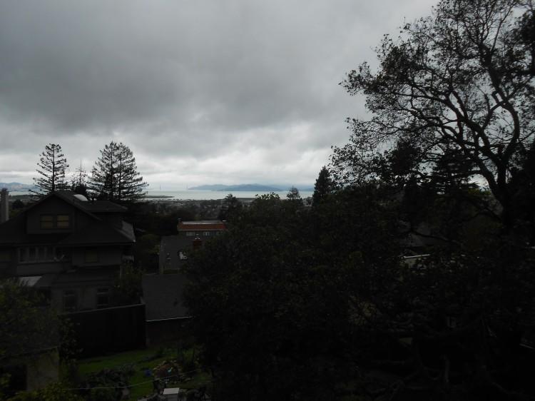 GOlden gate dark rain