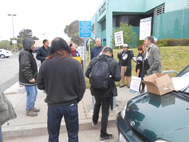 Agreeing on hwhere to picket