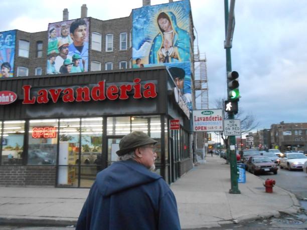 John at streetcorner