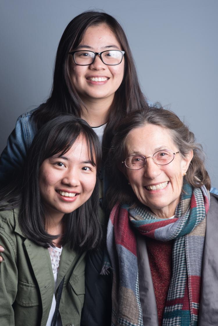 me, mai and Judy