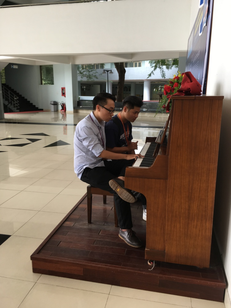 piano for use