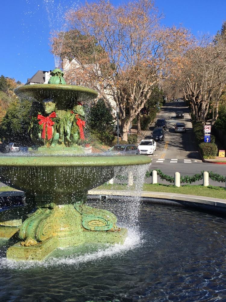 Bears fountain