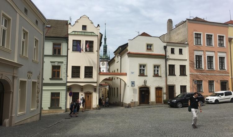corner of plaza